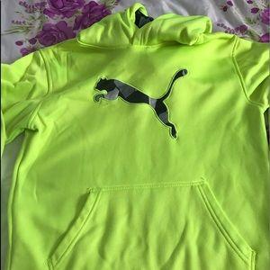 Puma boys hoodie size 12/14.
